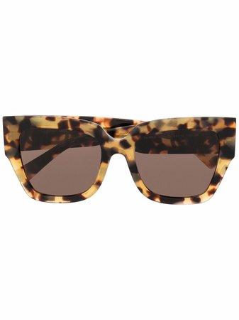 Valentino Eyewear VLogo square-frame Sunglasses - Farfetch