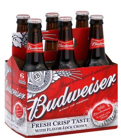 Budweiser beer 🍻