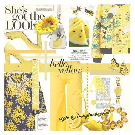 hello yellow (©purestylebychels)
