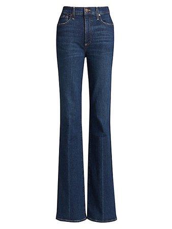 Alice + Olivia Jeans Fabulous 70'S Bootcut Jeans | SaksFifthAvenue