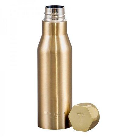Ted Baker Gold Water Bottle | Temptation Gifts