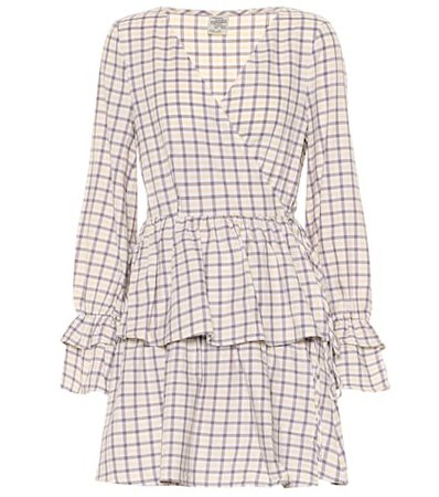 Exclusive to Mytheresa – Ailin checked cotton minidress
