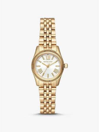 Petite Lexington Gold-tone Watch   Michael Kors
