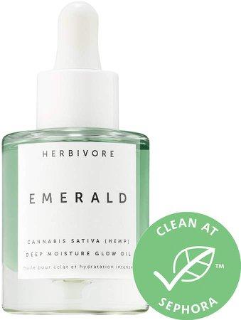 Herbivore - Emerald Cannabis Sativa Hemp Seed Deep Moisture Glow Oil