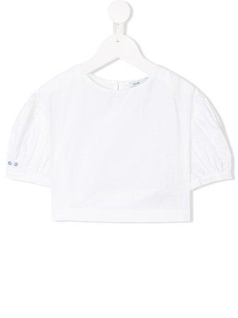 Shop white Knot Maria blouse with Express Delivery - Farfetch
