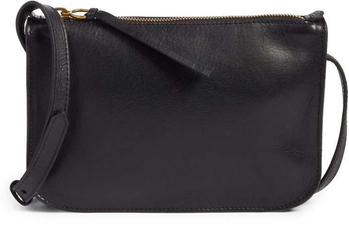 The Simple Leather Crossbody Bag