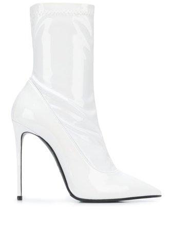 White Le Silla Eva 120Mm Ankle Boots | Farfetch.com