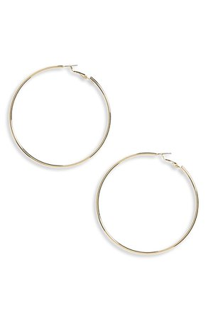 Panacea Gold Hoop Earrings | Nordstrom