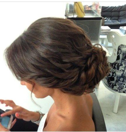 Brunette Updo Hairstyles