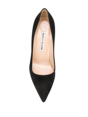 Manolo Blahnik Pointed High Heel Pumps - Farfetch