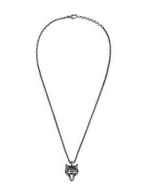 Gucci Wolf Head Necklace