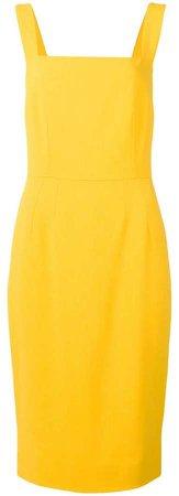 square-neck Cady dress