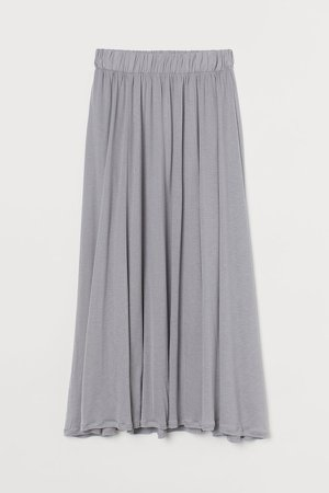Lyocell Skirt - Gray