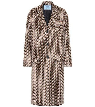 Intarsia coat