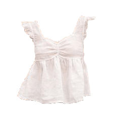 white shirt top png