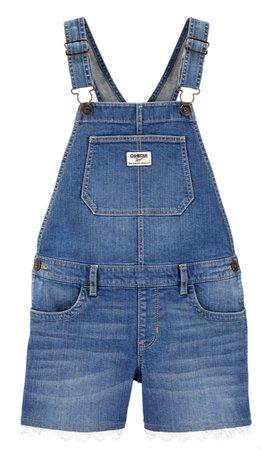 girls shorts overalls