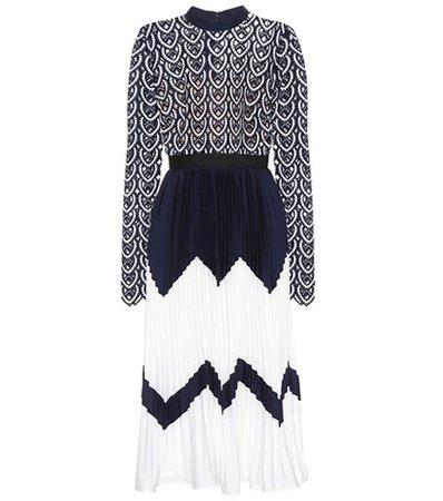 Sweetheart Crochet midi dress