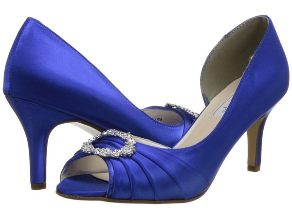 Touch Ups - Olivia (Royal Blue) Women's Bridal Shoes