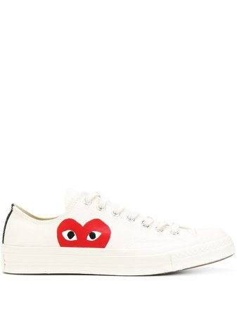 COMME DES GARÇONS PLAY X CONVERSE All Star low-top Sneakers - Farfetch