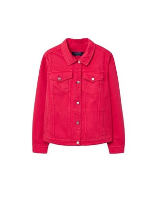 Violeta BY MANGO Color denim jacket