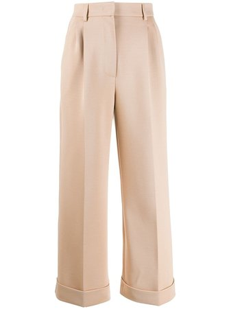 Fendi wide-leg Tailored Trousers - Farfetch