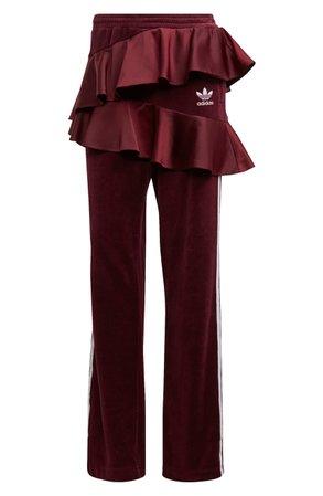 adidas Originals Ruffle Track Pants | Nordstrom