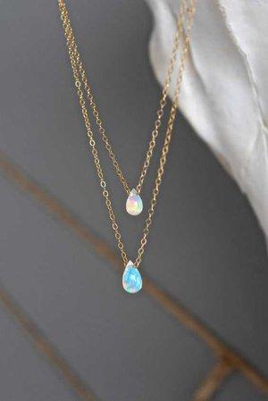 Opal Tears Necklace