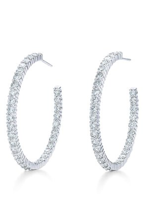 Kwiat Diamond Inside-Out Hoop Earrings | Nordstrom