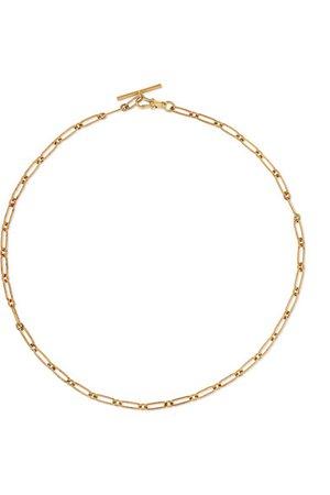 Pascale Monvoisin | Debbie N°2 9-karat gold necklace | NET-A-PORTER.COM