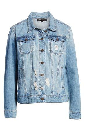 STS Blue Ella Boyfriend Denim Jacket | Nordstrom