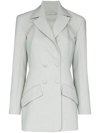 Matériel | two-piece cutout blazer