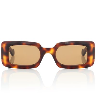 Rectangular Acetate Sunglasses | Loewe - Mytheresa