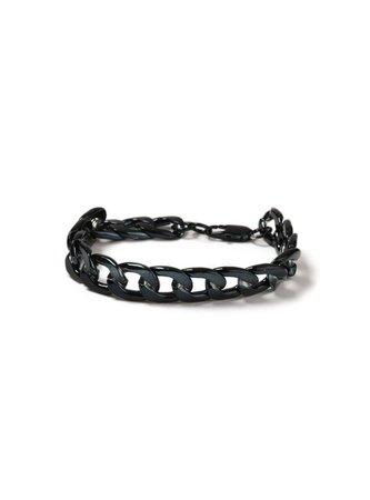 Navy Chunky Bracelet* - TOPMAN USA