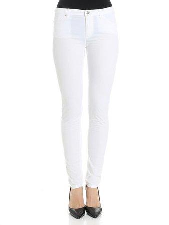 Emporio Armani Cotton Blend Trousers