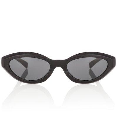 x Alain Mikli oval sunglasses