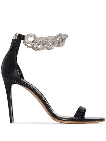 Alexandre Vauthier Elsa Embellished Strap Sandals - Farfetch