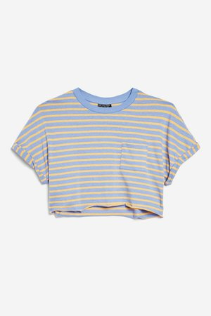 Striped Crop T-Shirt
