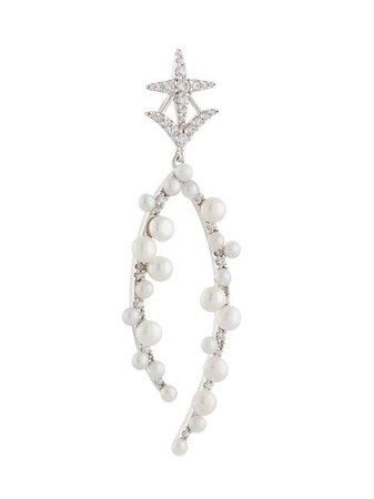 APM Monaco Star Single Drop Earring - Farfetch