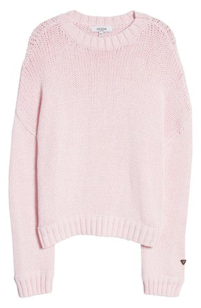 GUESS Crewneck Sweater   Nordstrom