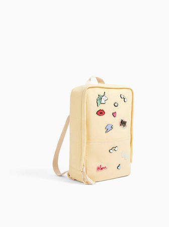 BACKPACK WITH PINS - BAGS AND BACKPACKS-GIRL | 5 - 14 years-KIDS | ZARA Kazakhstan