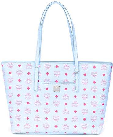 All-Over Logo Print Tote Bag