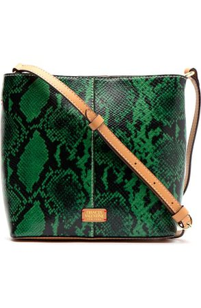 Frances Valentine Small Finn Snake Embossed Crossbody Bag | Nordstrom