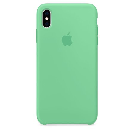iPhone XS Max Silicone Case - Spearmint - Apple