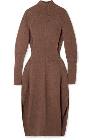 Chloé | Robe midi en mailles à découpes | NET-A-PORTER.COM