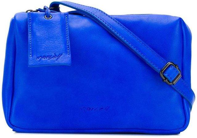 zipped crossbody bag