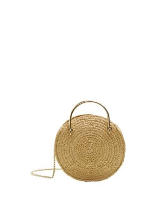 MANGO Round small bag