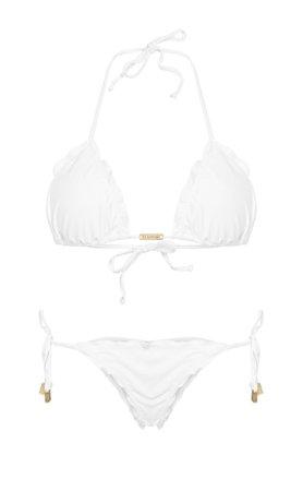 White & Gold Bikini
