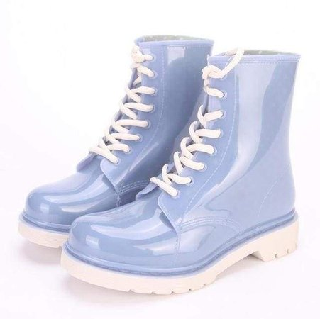 Kawaii Rubber Rain Boots Ankle Booties ABDL CGL | DDLG Playground