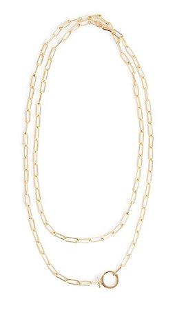 Gorjana Parker Wrap Necklace   SHOPBOP