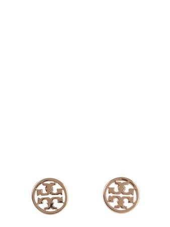 Tory Burch Circle-stud Logo Earrings